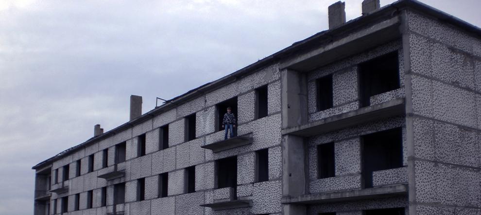 Заброшенный псекупский элеватор и здания в поселке Псекупс. Адыгея.