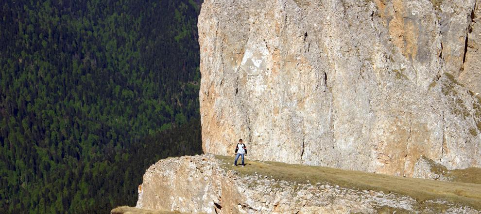 Поход на гору Большой Тхач от Новопрохладного через Тайвань. Адыгея / Краснодарский край
