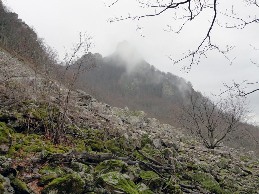 Каменное море на горе Индюк
