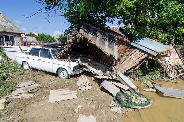 Три дня в Крымском районе после наводнения. Июль 2012