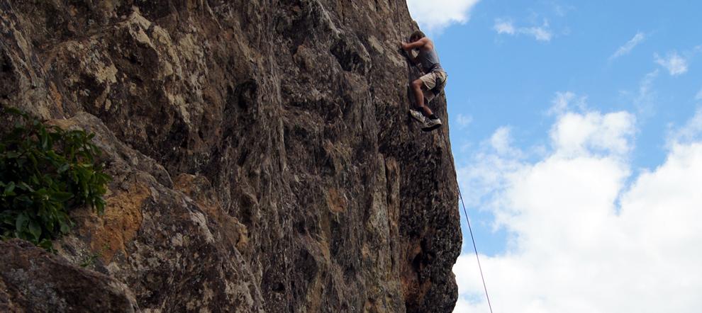 Планческие скалы. Планческая щель. История одной скалолазной тренировки