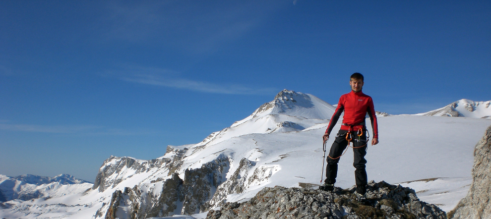 Восхождение на гору Оштен в Марте