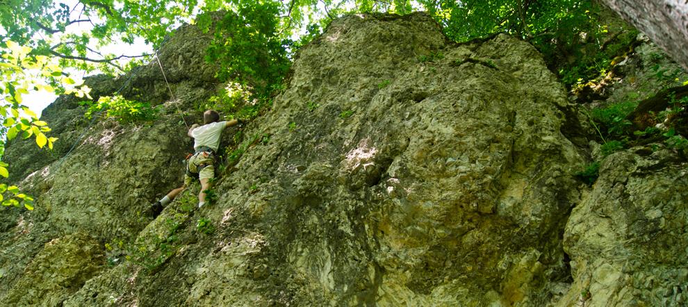 Бабаковы скалы. Горячий ключ