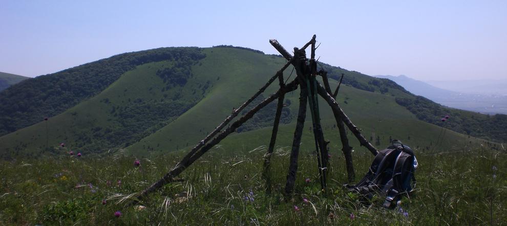 Поход по хребту Маркотх из Новороссийска в Кабардинку за один день. Соло забег через 7 вершин.