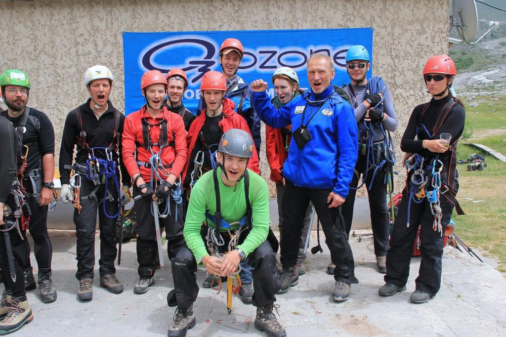 Посвящение в альпинисты. Безенги.