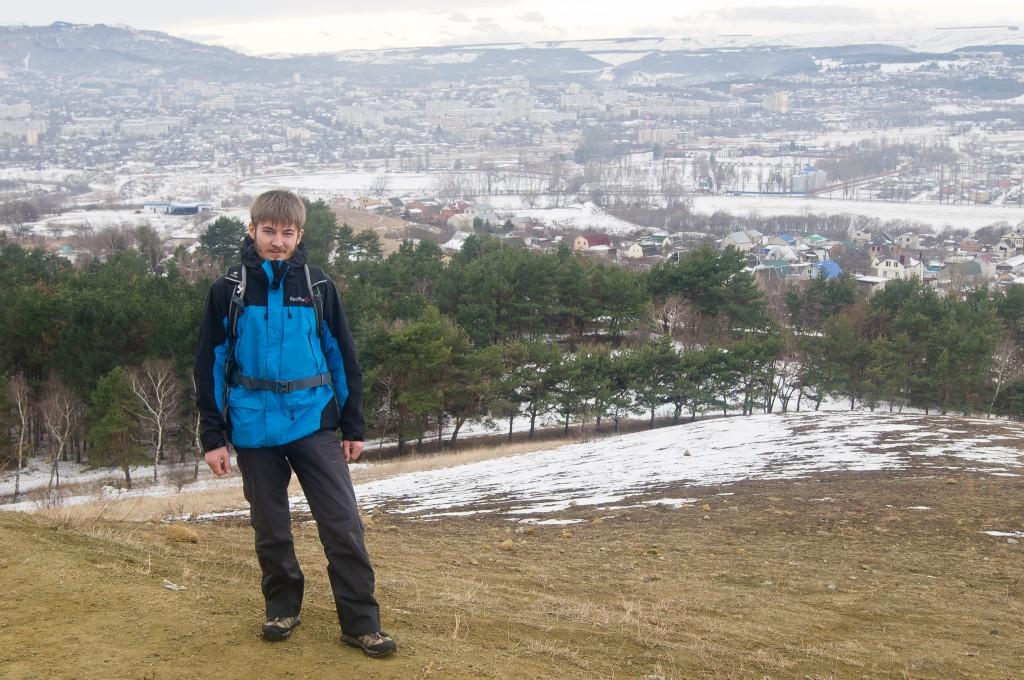 Гора Кольцо. Вид на Кисловодск