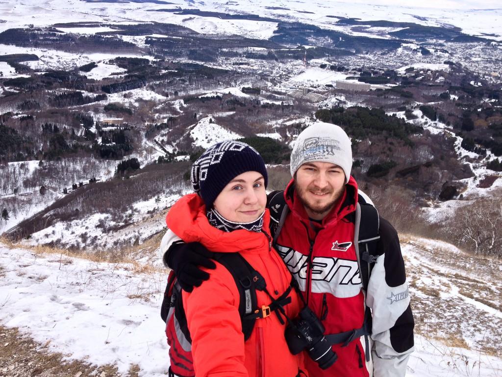 На вершине горы Малое Седло