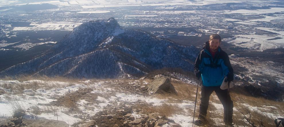 Восхождение на г. Бештау (из Пятигорска) зимой.