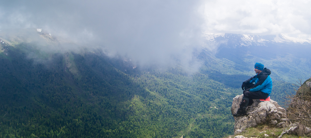 Поход на плато Черногор (гора Черногор  или Спящий Черкес). Озеро Чеше. Апшеронский район