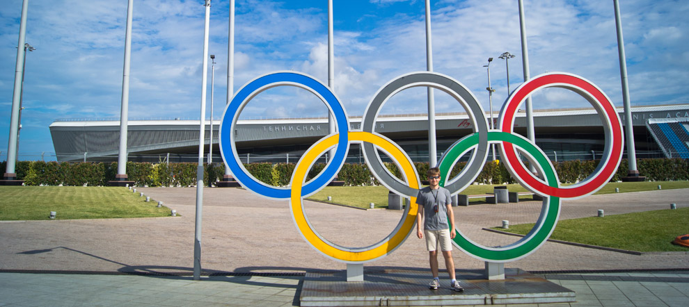 Олимпийский парк и океанариум в Адлере