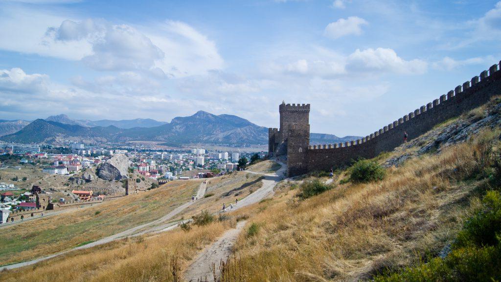 Генуэзская крепость. Крым.