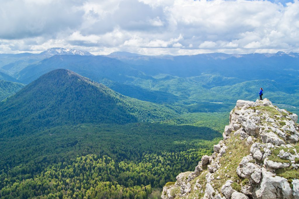 У вершины горы Черногор