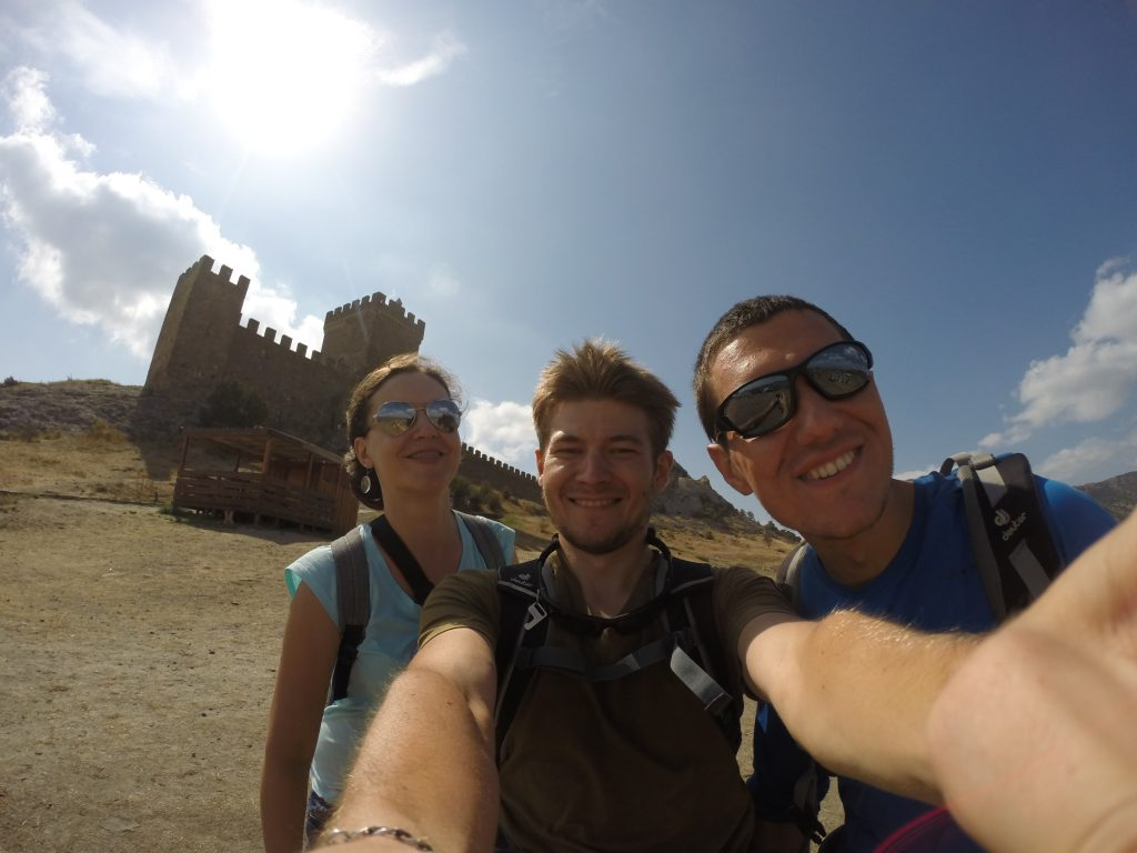 Сэлфи. Генуэзская крепость