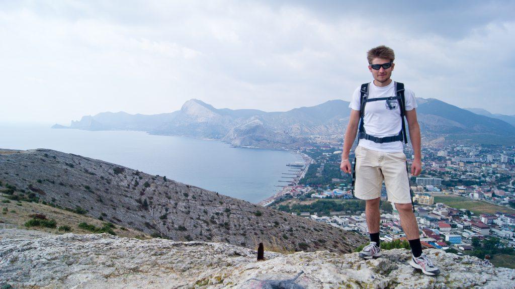 На вершине Алчак-Кая