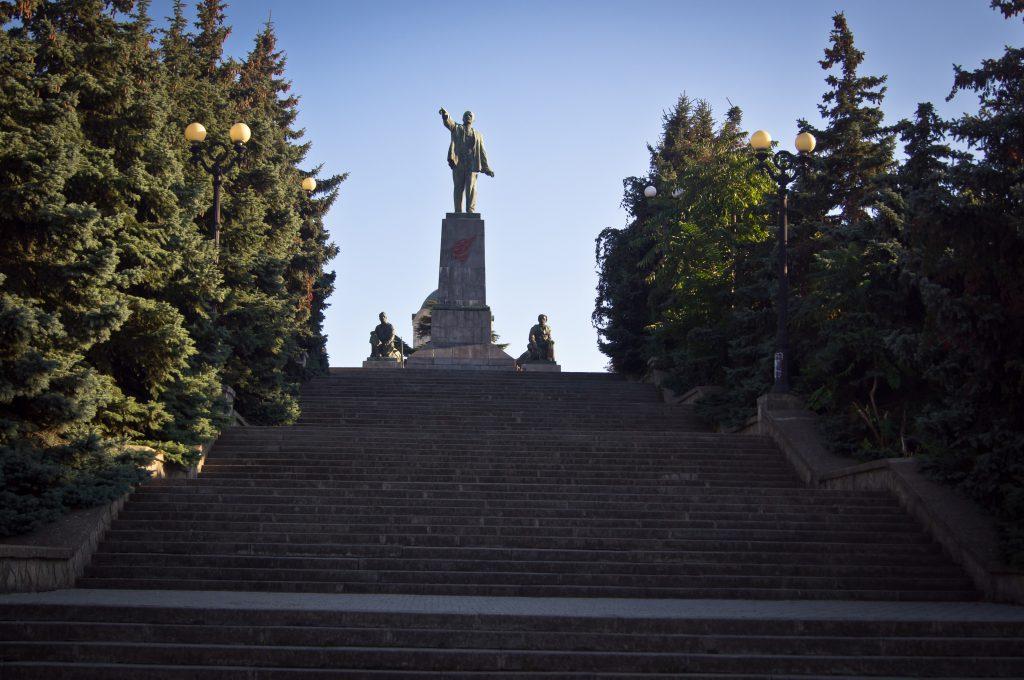 Памятник Ленину. Севастополь.