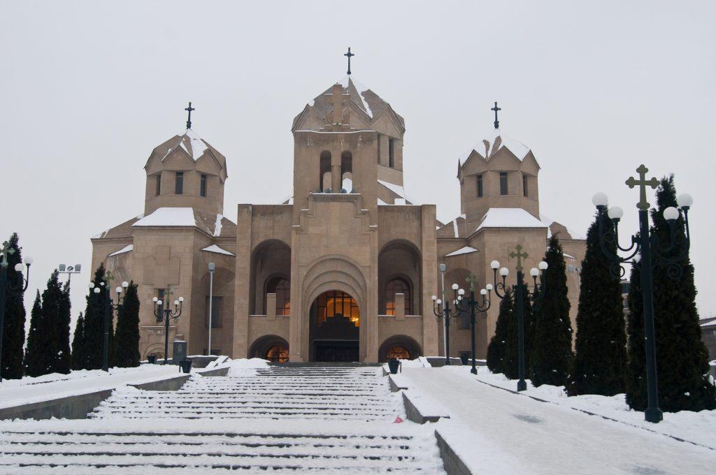 Собор Святого григория Просветителя. Ереван.