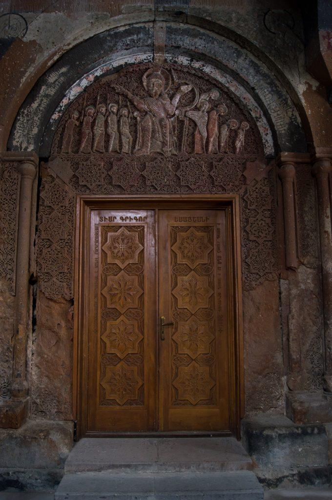 Двери в монастыре Ованаванк