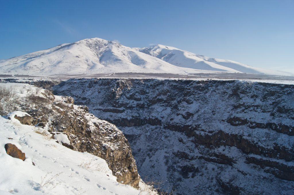 Касахское ущелье и гора Ара