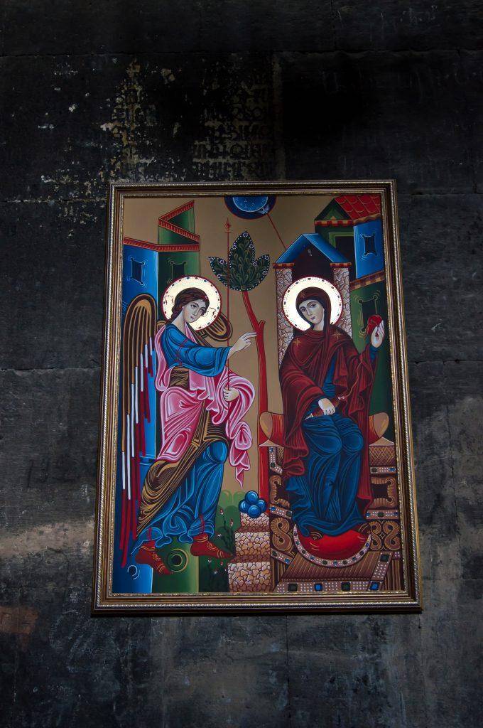 Картина в Сагмосаванк