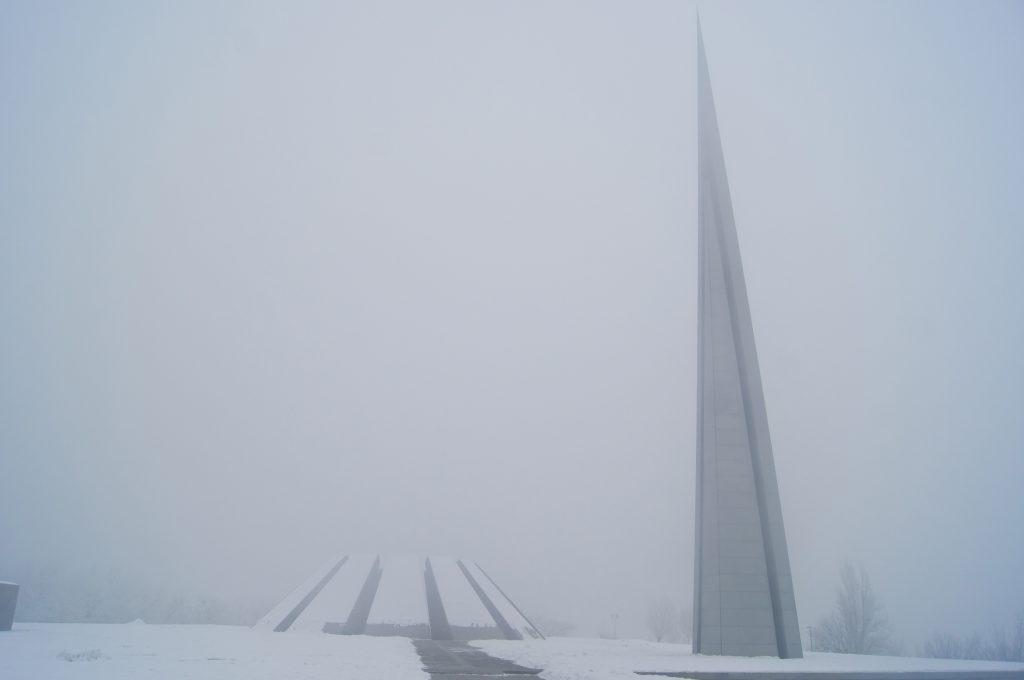 Монумент в Цицернакаберд